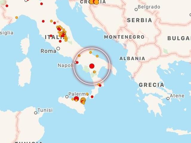 Scossa di terremoto nel cuore del Sud Italia nella notte: paura in Basilicata, Puglia e Campania