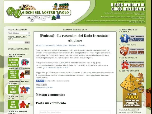 [Podcast] - Le recensioni del Dado Incantato - Altiplano