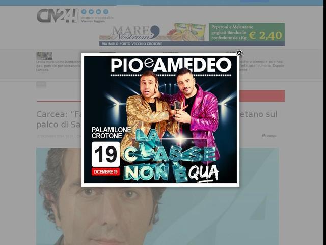 """Carcea: """"Favorire il ritorno dell'ukulele di Rino Gaetano sul palco di Sanremo"""""""