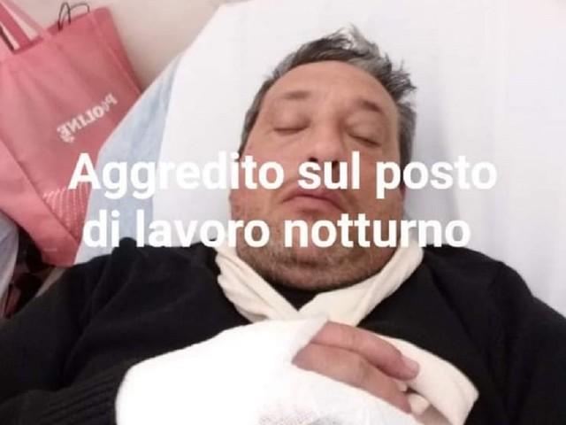 Autista dell'Amat aggredito a colpi di manganello, trasportato in ospedale
