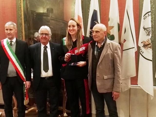 Benemerenze sportive Coni: premiati a Palazzo Barbieri 23 campioni veronesi