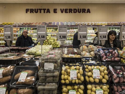 Le etichette commestibili su frutta e verdura