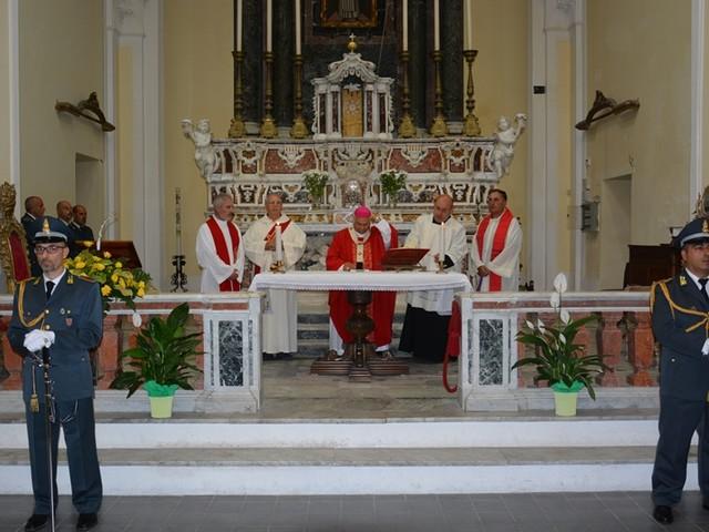 Catanzaro: la guardia di finanza celebra la solennità di San Matteo [FOTO]