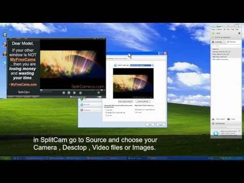 Trasmettere video, tv e riprese webcam su Skype o su internet con Splitcam