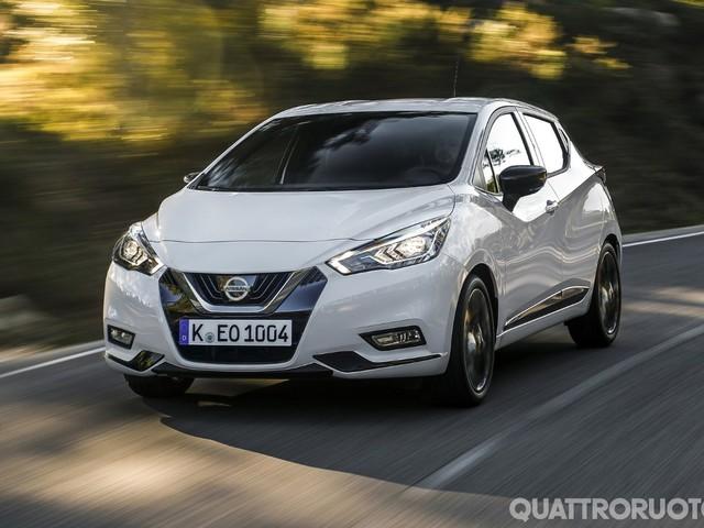 Nissan - Nuovi motori e dotazioni per la Micra