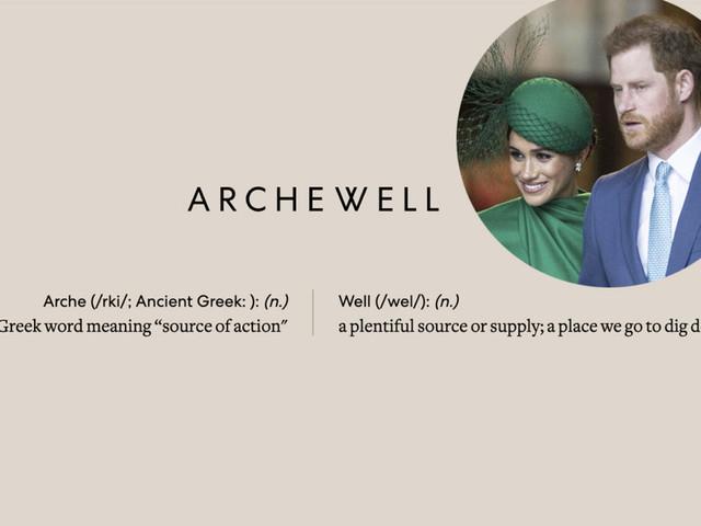 È online Archewell, il nuovo sito di Harry e Meghan