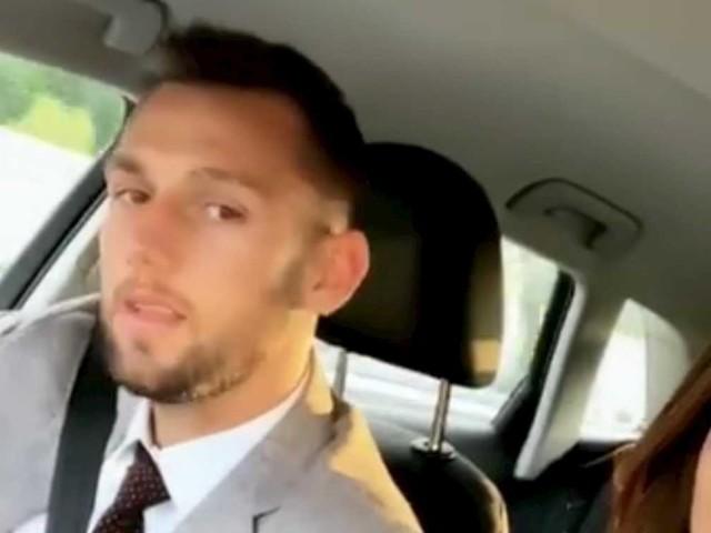 Giocatori in vacanza: Stefan de Vrij e fidanzata scatenati in macchina – VIDEO