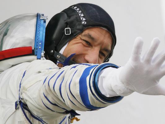 Le foto di Luca Parmitano verso la Stazione Spaziale Internazionale