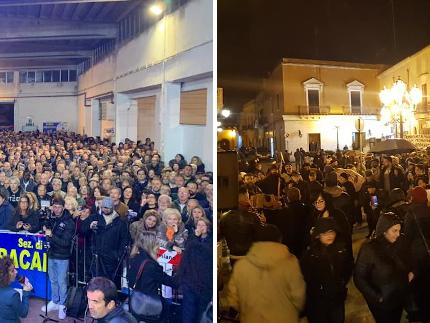 Salvini contro Santori: in provincia di Lecce vince la Lega