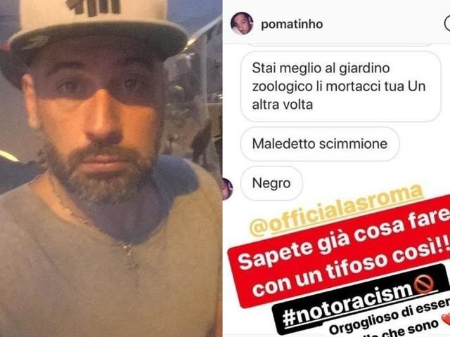 Dell'Aquila, arriva la stangata: daspo per 3 anni e denuncia per stalking e minacce aggravate da odio razziale