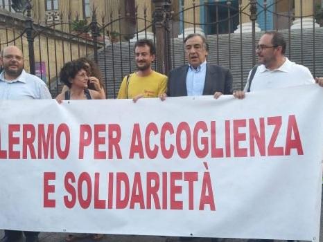 A Palermo la protesta contro il Decreto Sicurezza bis: le foto