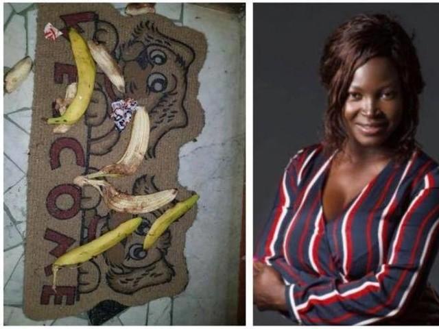 Banane sull'uscio di casa dell'attrice africana Balkissa Maiga. «Ci si sente male dentro»