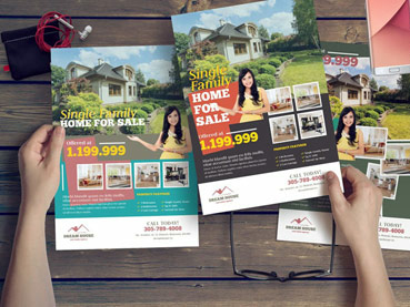 20 Best Free Real Estate Flyer Templates (Design Ideas for Agents 2021)