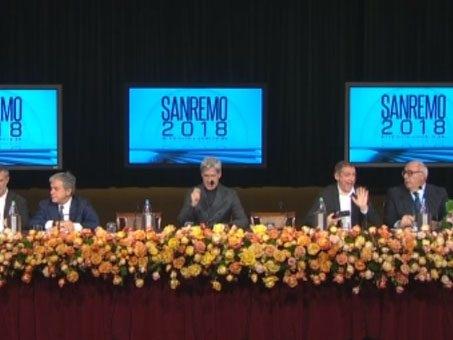 La conferenza stampa del Festival di Sanremo 2018 in diretta: ospiti, cantanti e conduttori della festa della musica di Baglioni