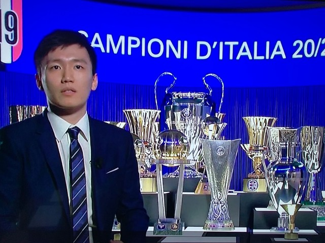 La gioia di Steven Zhang per lo Scudetto dell'Inter: i progetti per il futuro