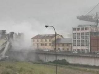 Crolla ponte Morandi a Genova, decine di morti, Nord Ovest in tilt