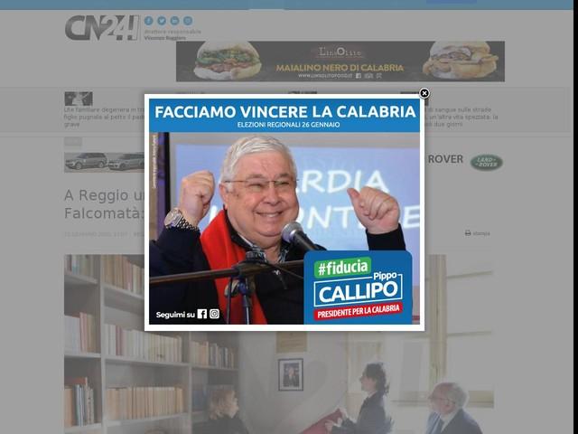 """A Reggio un luogo per ricordare Santo Coppolino. Falcomatà: """"Esempio per la nostra città"""""""
