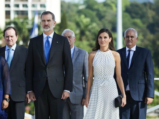 Letizia e Felipe di Spagna per la prima volta in visita a Cuba