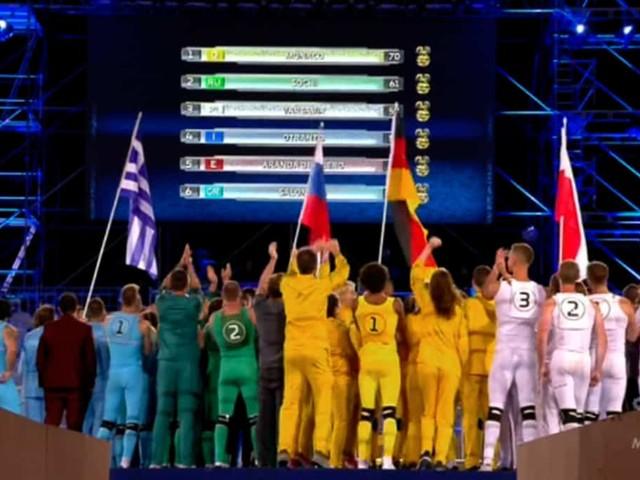 Eurogames: la classifica di ieri sera e chi ha vinto a fine puntata   video Mediaset