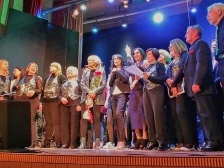 """Grande successo e partecipazione per lo spettacolo """"Un Palco per tutti""""."""