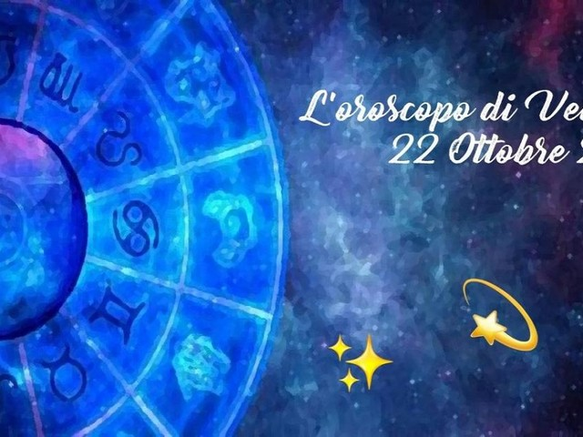 L'oroscopo di venerdì 22 ottobre: Bilancia oltre le aspettative, ottima Venere per Ariete