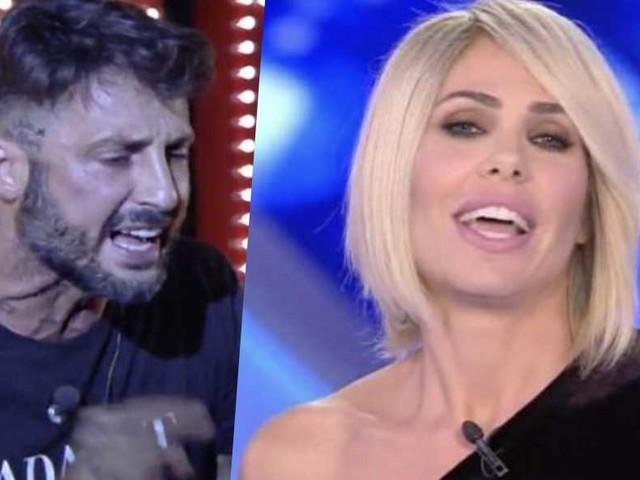 Ilary Blasi spiega perché la litigata con Fabrizio Corona non era una cosa organizzata