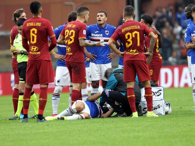 Serie A, Sampdoria-Roma 0-0. Il Cagliari batte 2-0 la Spal, l'Udinese vince 1-0 con il Torino