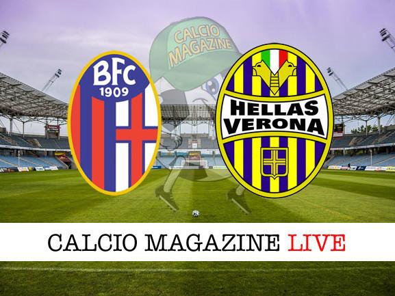 Bologna – Hellas Verona: cronaca diretta live, risultato in tempo reale