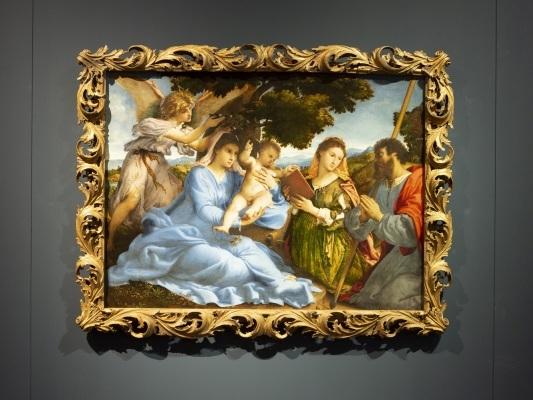 La grazia inarrivabile di Lorenzo Lotto sotto le ali di un angelo