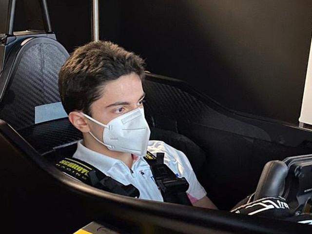 """Matteo Nannini vola in Bahrain per i primi test F2: """"Lavoreremo sulla costanza, il tempo verrà da sé"""""""