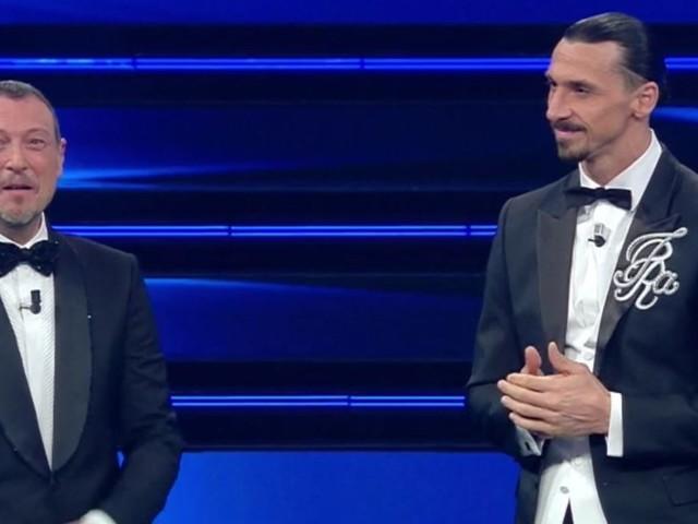 """""""Ibrahimovic non sarà sul palco"""". Sanremo 2021, arriva l'annuncio di Amadeus: il motivo della sua assenza"""