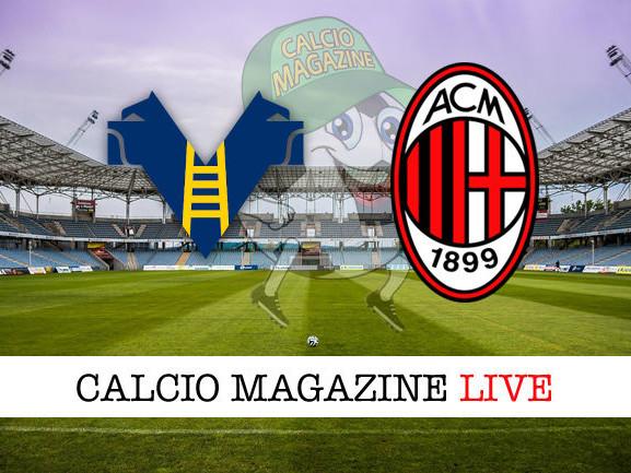 Hellas Verona – Milan: cronaca diretta live, risultato in tempo reale
