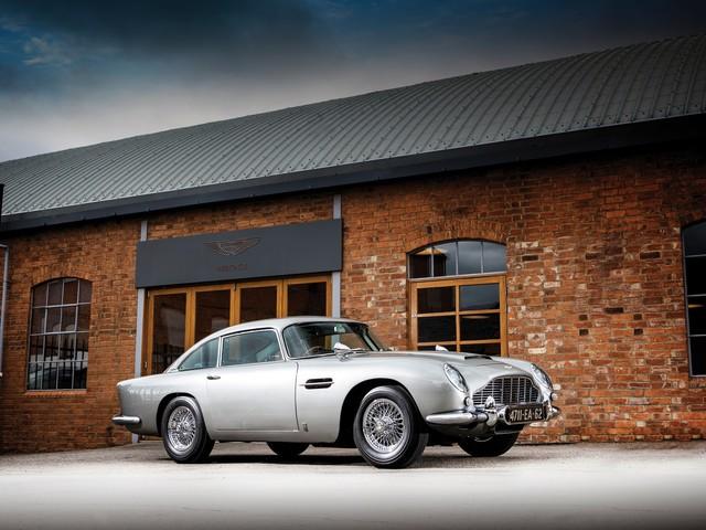 Aston Martin DB5: all'asta la vera auto di James Bond [Video]