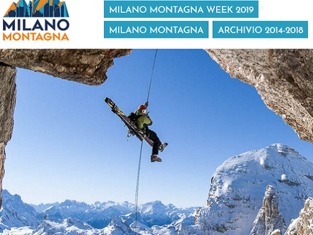 Mammut partner ufficiale di Milano Montagna Week dal 14 – 20 ottobre 2019