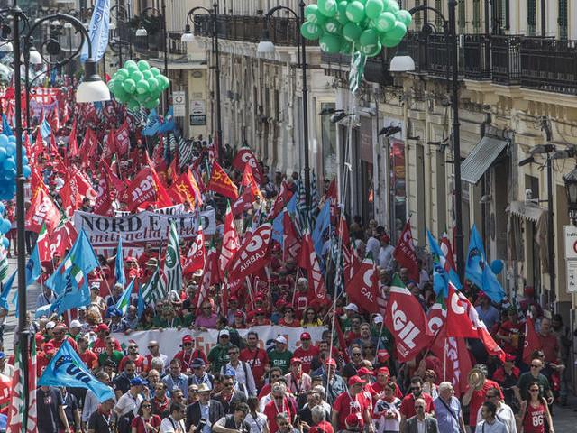 Landini: da Reggio Calabria rilanciamo la mobilitazione