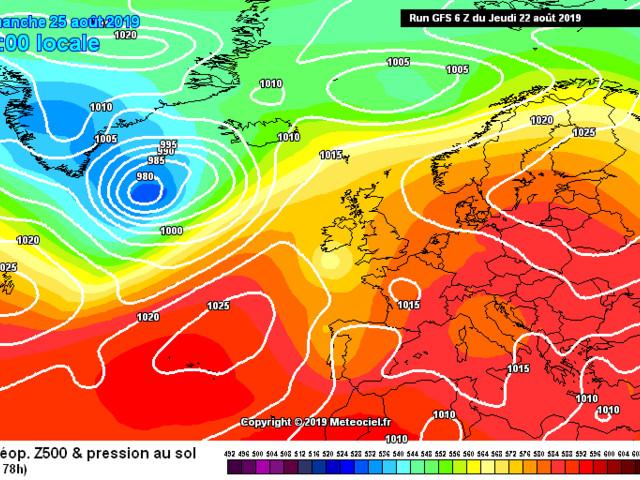 Il meteo in Abruzzo 23 – 29 agosto: tempo orientato verso instabilità, soprattutto pomeridiana.