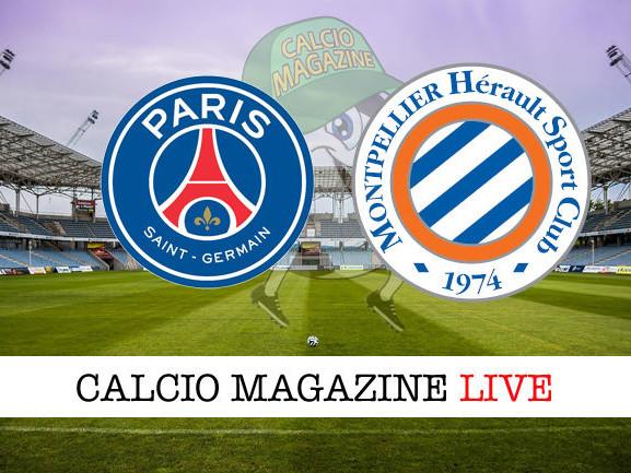 Ligue 1, PSG – Montpellier: diretta live, risultato in tempo reale