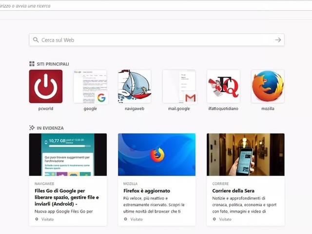 Fireofox diventa super veloce nella nuova versione Quantum (Firefox 57)