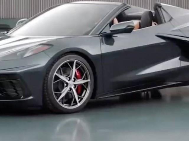 La nuova Chevrolet Corvette Convertible sarà presentata ad ottobre