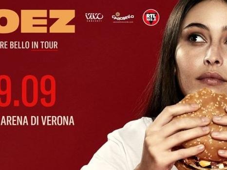 È Sempre Bello In Tour, il ritorno di Coez nei palasport parte dall'Arena di Verona il 29 settembre