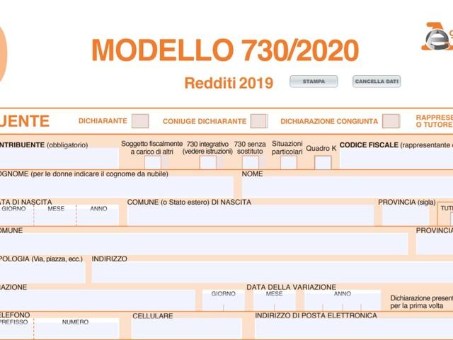Modello 730 editabile 2020: come scaricarlo online e compilarlo