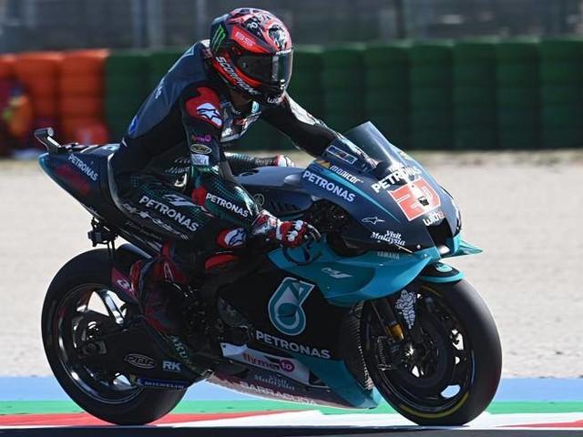 Gp Misano: Quartararo-Morbidelli guidano con Yamaha-Petronas. Rossi quinto, male Dovizioso