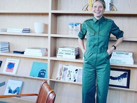 Gwyneth Paltrow ha un nuovo ufficio