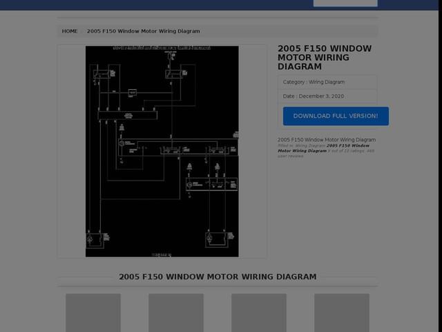 F150 Window Motor Wiring Diagram