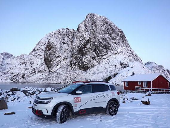 Citroën C5 Aircross: 4000 km tra i ghiacci della Norvegia