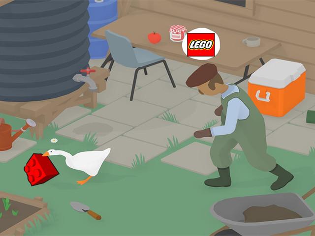 Untitled Goose Game potrebbe diventare un set Lego grazie al vostro aiuto