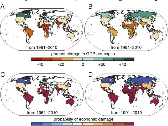 I cambiamenti climatici hanno peggiorato la disuguaglianza economica globale