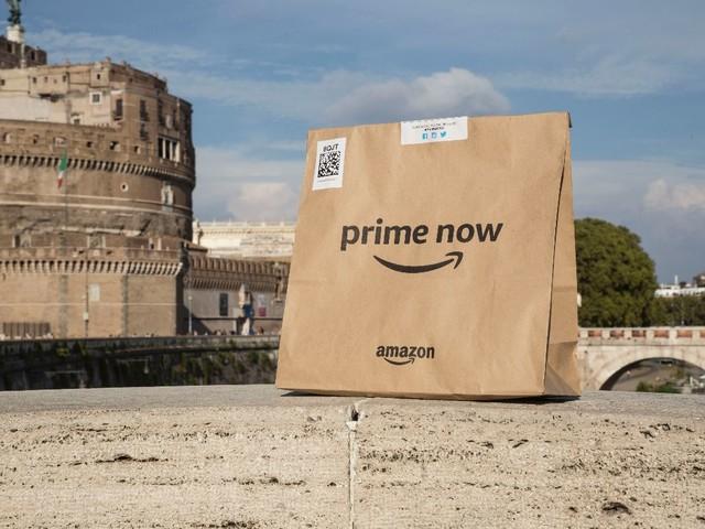 Amazon Prime Now arriva anche a Roma