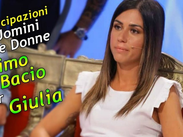 U&D, anticipazioni trono classico: Giulia bacia Daniele