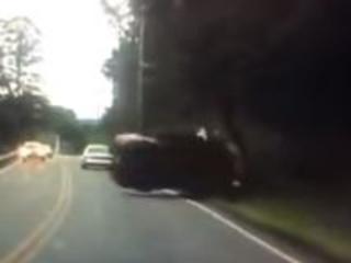 Usa, si distrae con il cellulare mentre guida: incidente filmato in diretta
